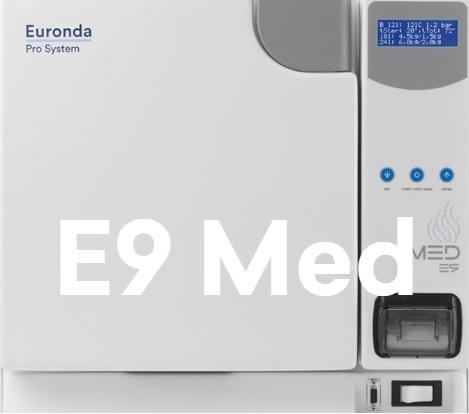 Медицинский автоклав купить для стерилизации Euronda E9 Med 24 Л